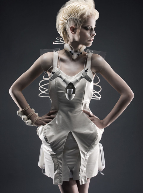 me want: (Cocktail Dispensing Dress by Co.Design)