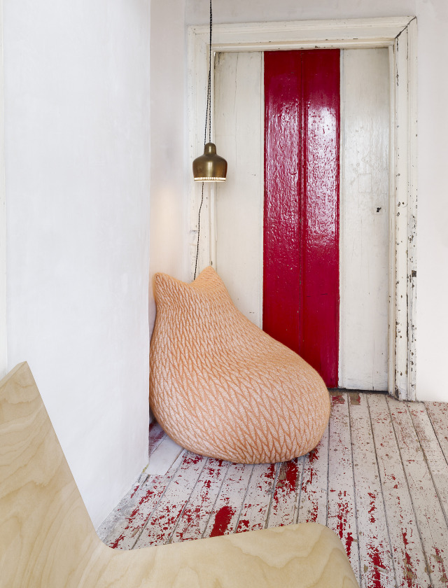 me want: (modern beanbag chair by Aleksandra Gaca)