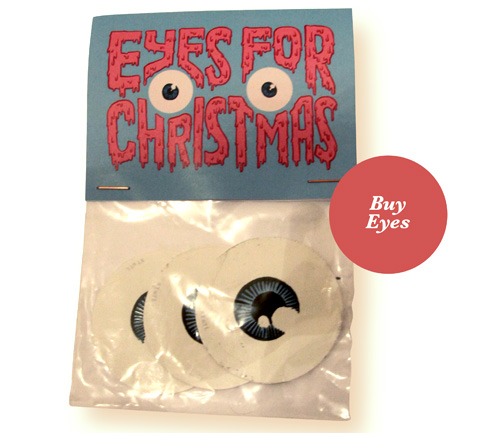 me want: (eyeball stickers by Alledaags)