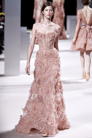 Elie Saab Spring 2011 Couture Collection Slideshow on Style.com