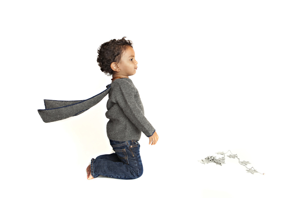 Our Peace Cape Sweater- 100% Alpaca, made by hand (Detachable cape)
