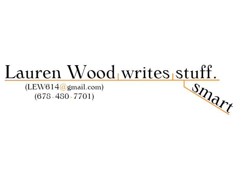 I am Lauren Wood.
