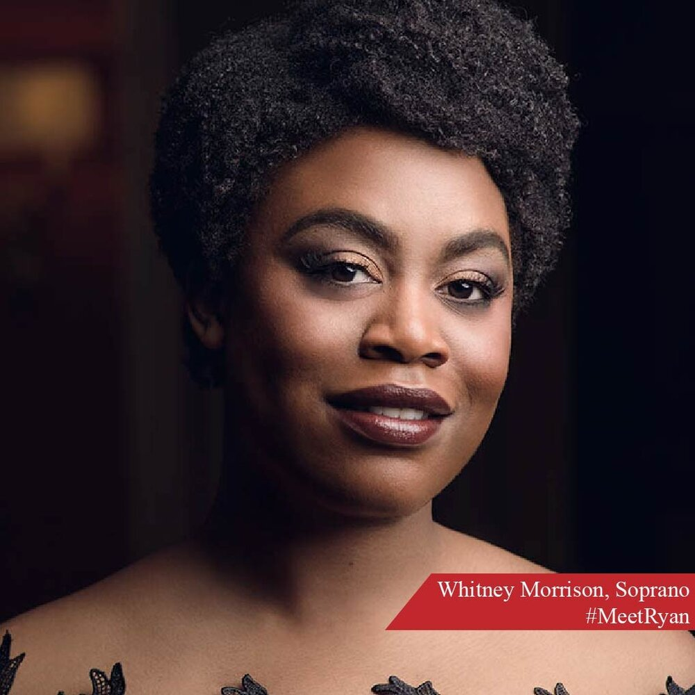 Whitney Morrison is a native of Chicago, and earned her bachelor's degree from Alabama's Oakwood University. She also has a Master's degree from the Eastman School of Music, the Georg Solti Accademia di Bel Canto in Italy, and the Neil Semer Vocal Institute in Germany. You can see Whitney onstage at Lyric as the First Cretan Woman in  Idomeneo  and as the Confideante in  Elektra . She's also understudying Mimi in  La Bohème . #MeetRyan #LYP #LyricOpera #RyanOperaCenter #WhitneyMorrison #Soprano