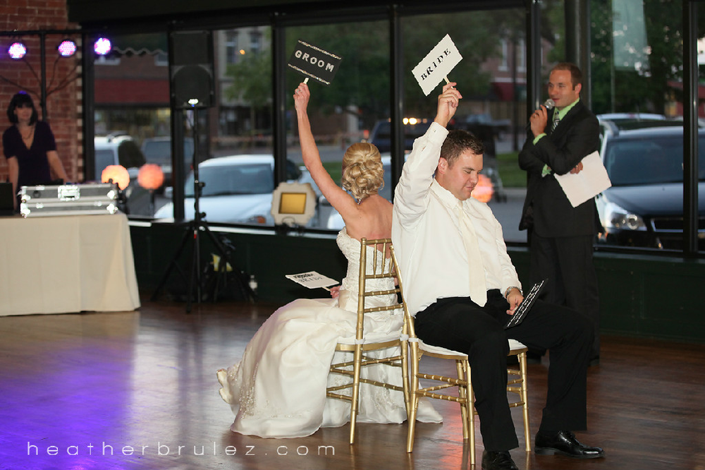 KC wedding entertainment newlywed game