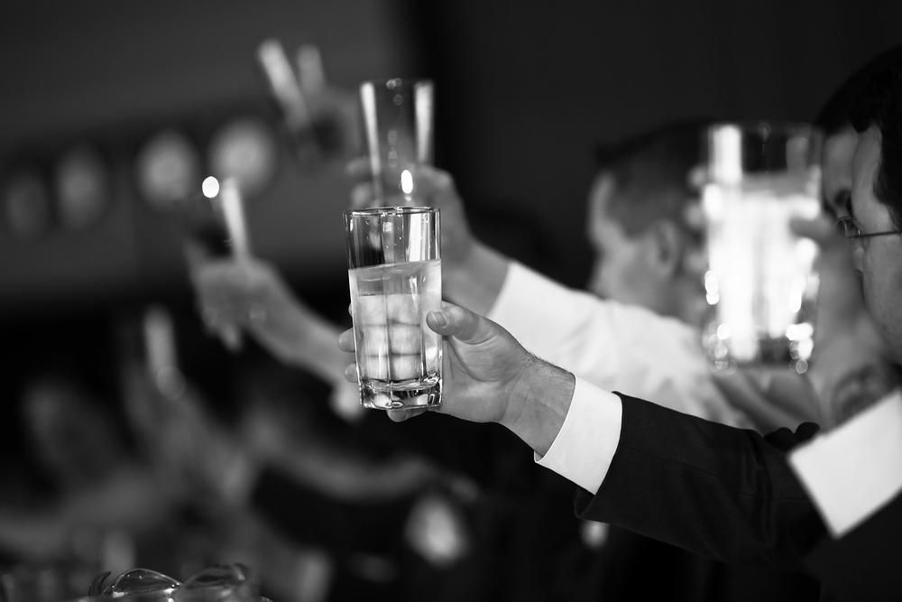 Grand Ballroom reception with Michael Lauren Weddings