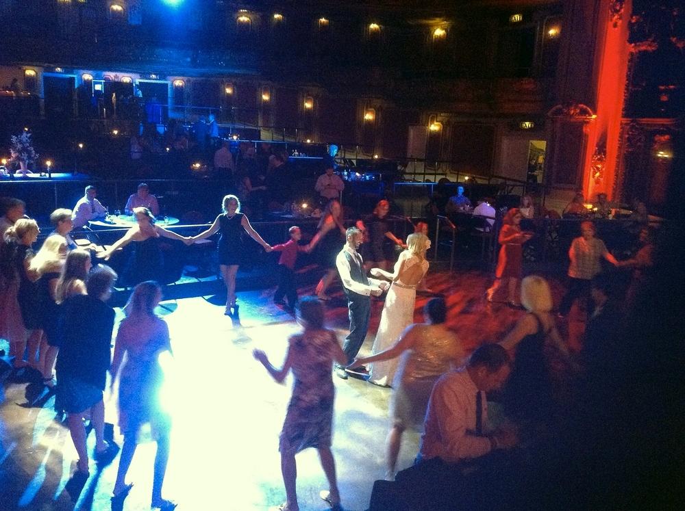 Midland Theater Weddings with Michael Lauren Weddings.