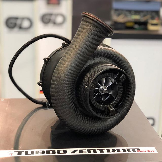 "I'm just gonna add this to the ""want really fucking bad"" list... just a carbon/Ti turbo.. I don't even want to put it on a car, I just want it to drool over.. 🔥🤤🤤🤤 #turbozentrum"