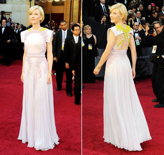 oscars flashback. love the detail on this gown. amazing.