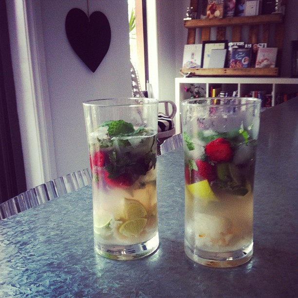 anniversary mojitos at home with mr bell xx