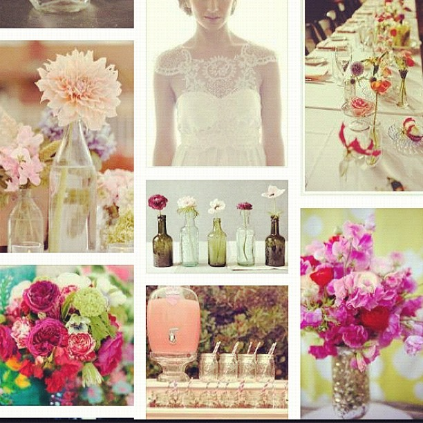 Wedding inspiration, holy excitement.  (Taken with  instagram )