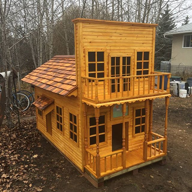 Dog house -  aka The Barkshire Hotel -  almost complete
