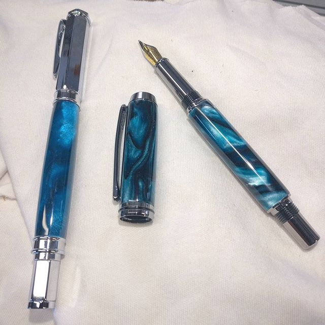 Couple of new fountain pens