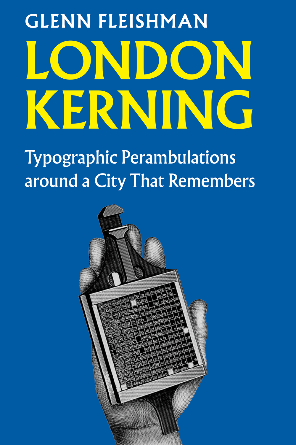 Mockup of the book cover
