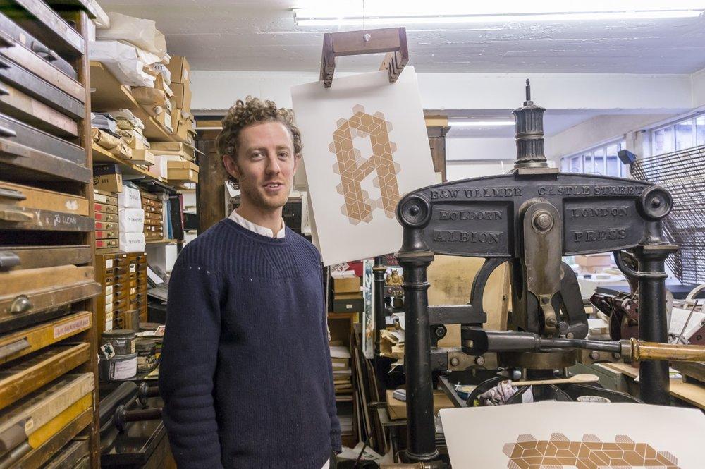 Richard Ardagh at the New North Press