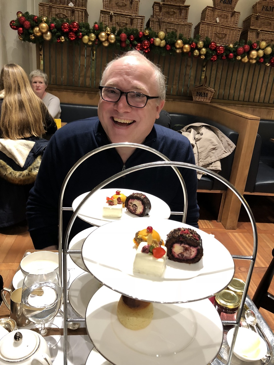 A spot of afternoon tea at Fortnum & Mason
