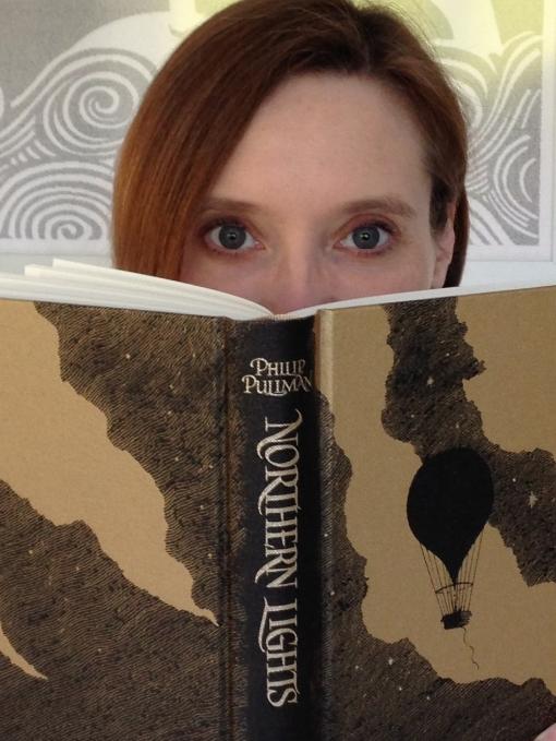 Helen and Book.JPG