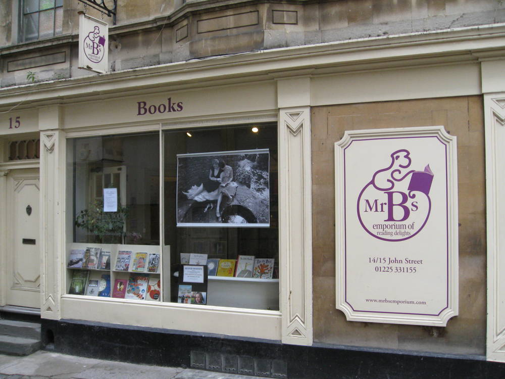 The Delightful Mr B's in Bath - The best bookshop in all the world.