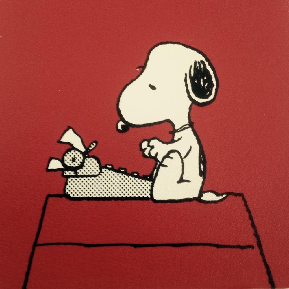 Snoopy (courtesy of Moleskine)