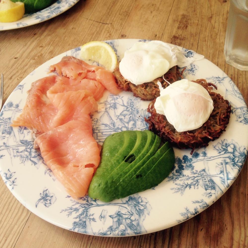 Breakfast at Rosarios in Bath