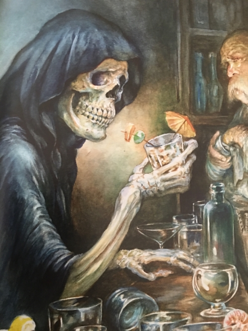 DEATH has cocktail