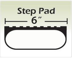 "Raptor Series 6"" Black Wheel to Wheel Oval Tube Side Step Nerf Bars"