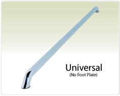 "Raptor Series 1.9"" Universal Tubular Truck Bed Rail Stainless Steel."