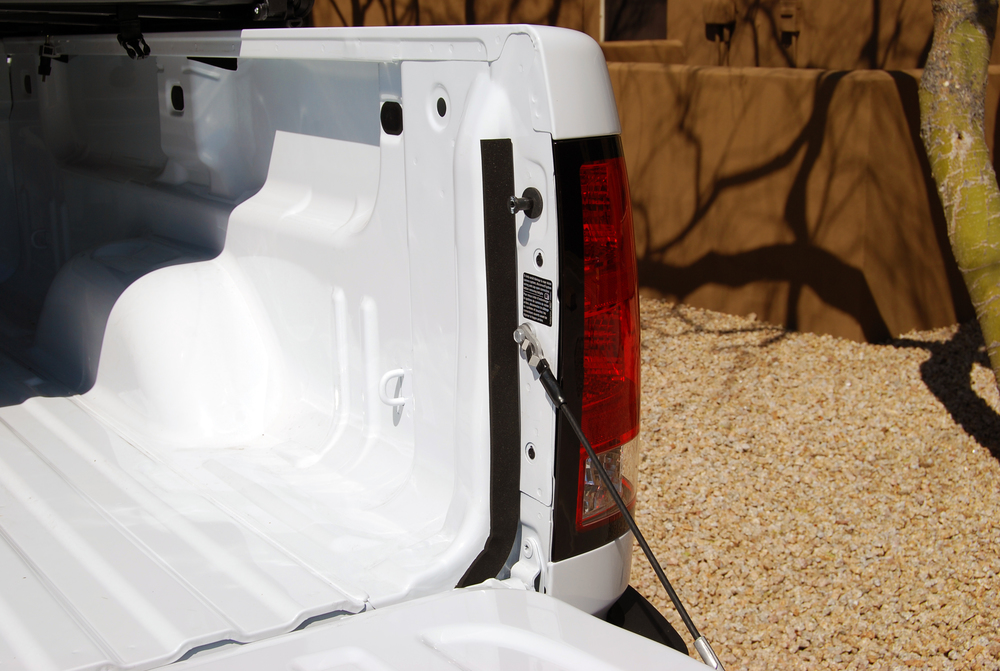 Sure   Seal   Tailgate   Seal    Before Installation - Sure Seal tailgate seal will minimize dust and moisture in the bed of your truck.