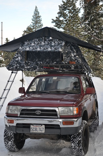 Tepui Kukenam Special Siberian Camo Roof Top Tent