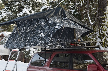 Special Ops Siberian Camo Roof Top Tent