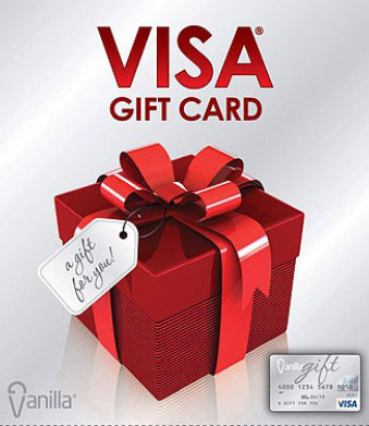 $50 Visa Gift Card with Purchase