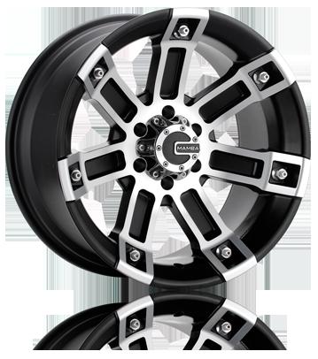 Mamba M1X Matte Black OffRoad Truck Wheels