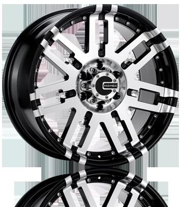 Mamba M2X Matte Black OffRoad Truck Wheels