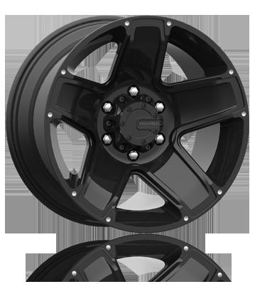 Mamba M13 Matte Black OffRoad Truck Wheels