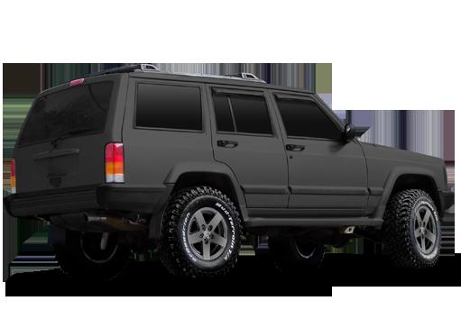 Mamba MR1X MatteBlack / Silver OffRoad Wheels
