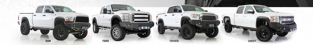 Smittybilt M1 TruckFront Winch Bumpers