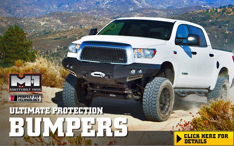 Smittybilt M1 Truck Front Winch Bumpers