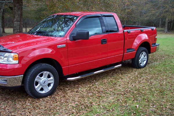 "Ford F-150 Raptor Series 3"" Stainless Steel Round Side Step Nerf Bars"