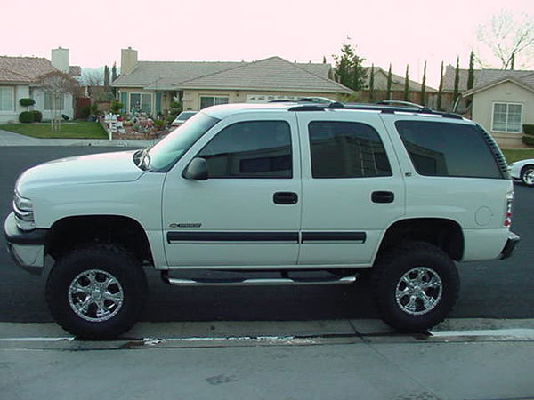 "Tahoe Raptor Series 3"" Stainless Steel Round Side Step Nerf Bars"