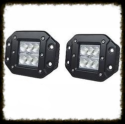 "Pro Series 3"" Flush Mount LED Pod"