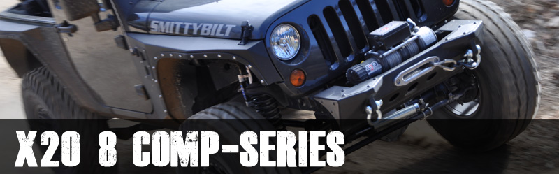 Smittybilt X2O 8 - 8,000 Lb. Comp-Series Winch
