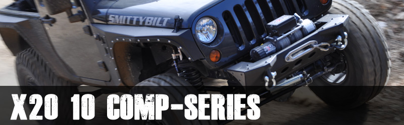 Smittybilt X2O 10 Comp-Series 10,000 lb Winch