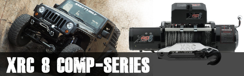 Smittybilt XRC 8 Comp-Series 8,000 Lb. Winch