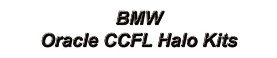 BMW-Oracle Halo Kits