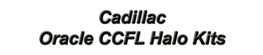 Cadillac-Oracle Halo Kits