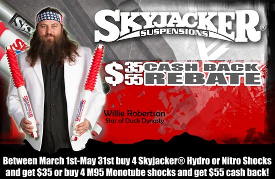 CLICK HERE TO DOWNLOAD THE SKYJACKER SHOCKS CASH BACK REBATE FORM