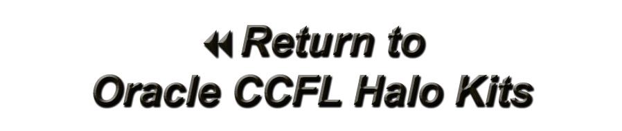 Oracle CCFL Halo Kits
