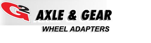 G2 Axle & Gear Wheel Adapters