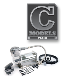 """""""C"""" model compressors are intended to fill air tanks."""