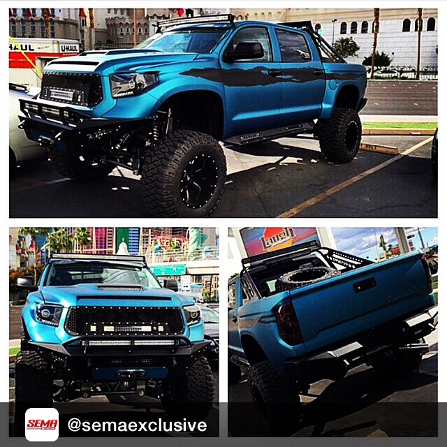 Repost from @semaexclusive #SEMA2014 - Tag SemaExclusive in your photos from #SEMA to be shared. #semashow #lasvegas #vegas #offroadupgrades