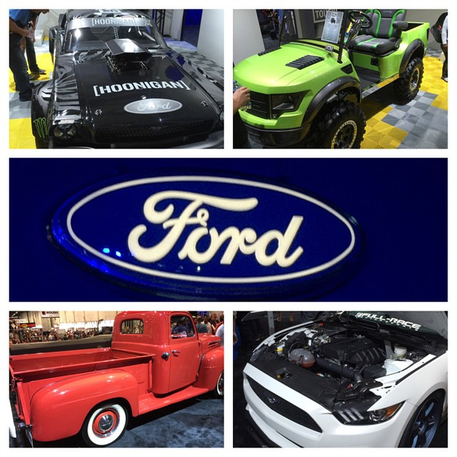 Ford Racing Performance Parts Live from the SEMA SHOW 2014! #offroadupgrades #FordSEMA #ford #mustang